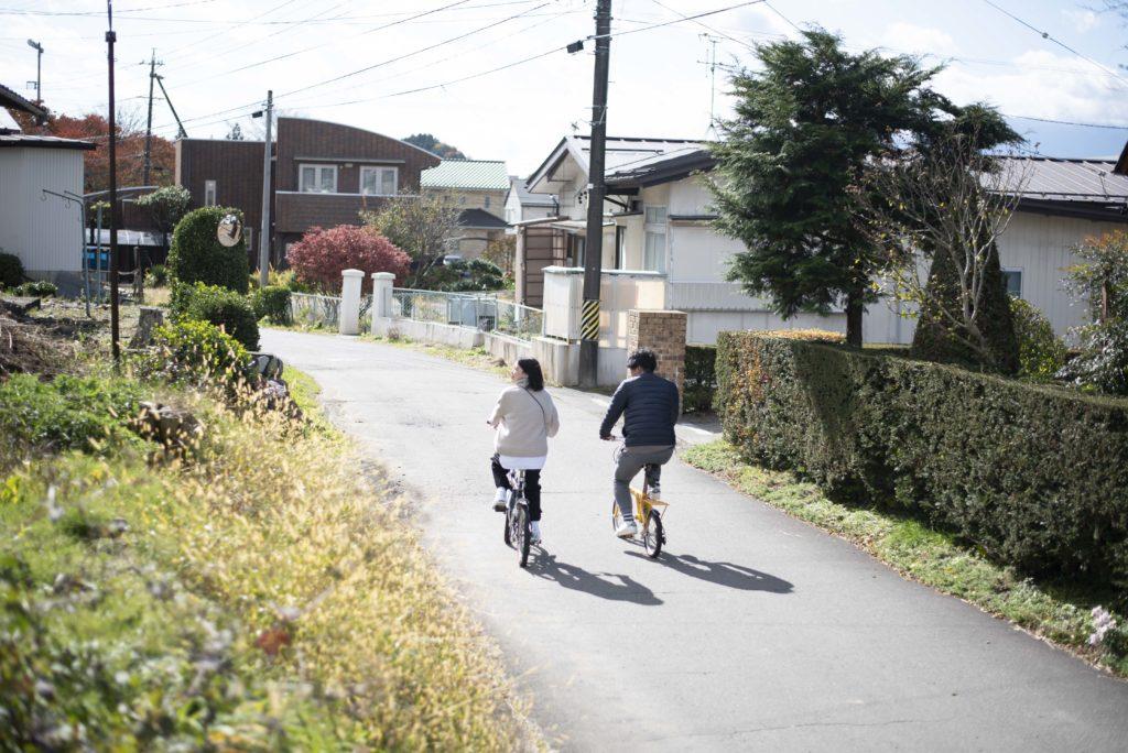 辰野町 自転車